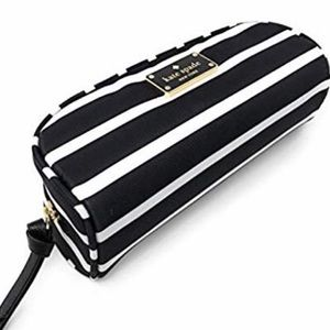 Kate Spade Sm Berrie Wilson Rd Cosmetic Bag NWT